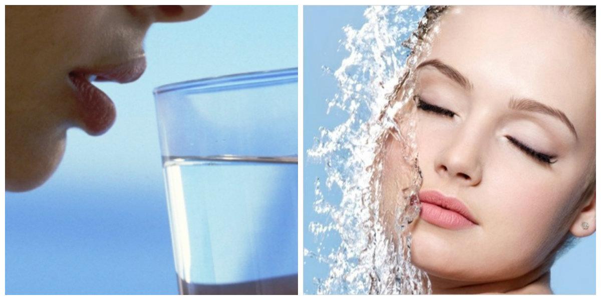 Недостаток воды - причина перхоти