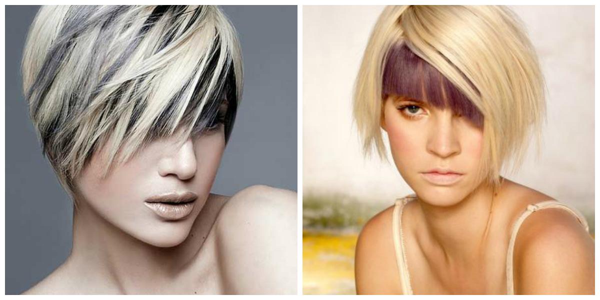 Как называется окрашивание волос в два цвета