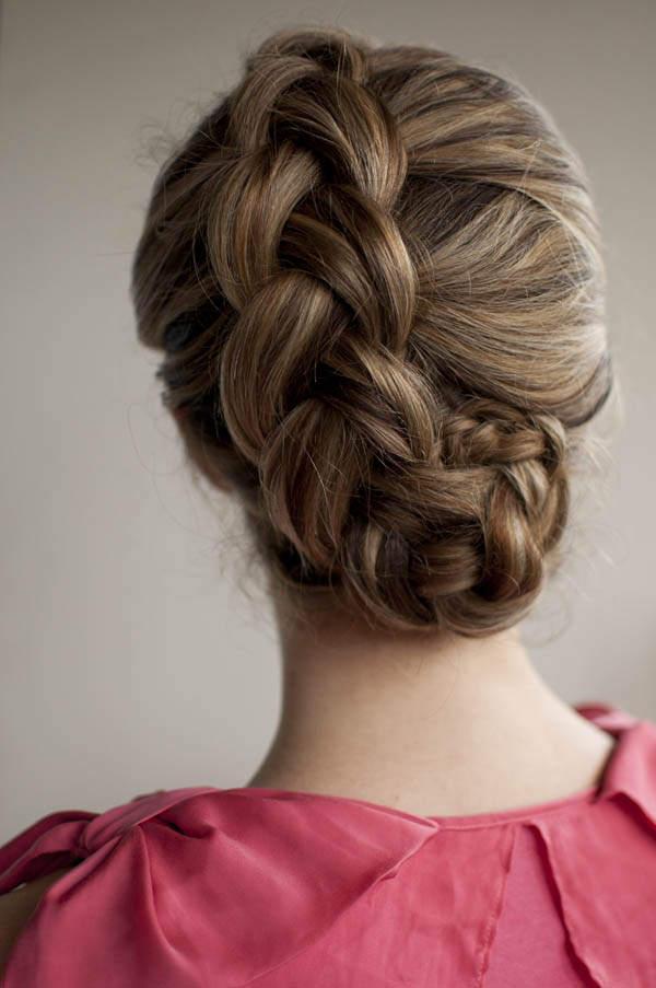 Косички для коротких волос: голландская
