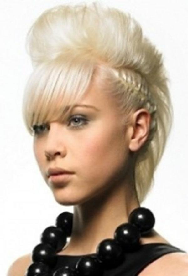 Косички на короткие волосы: фото 3