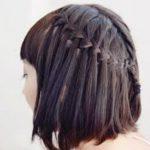8 идей косичек для коротких волос