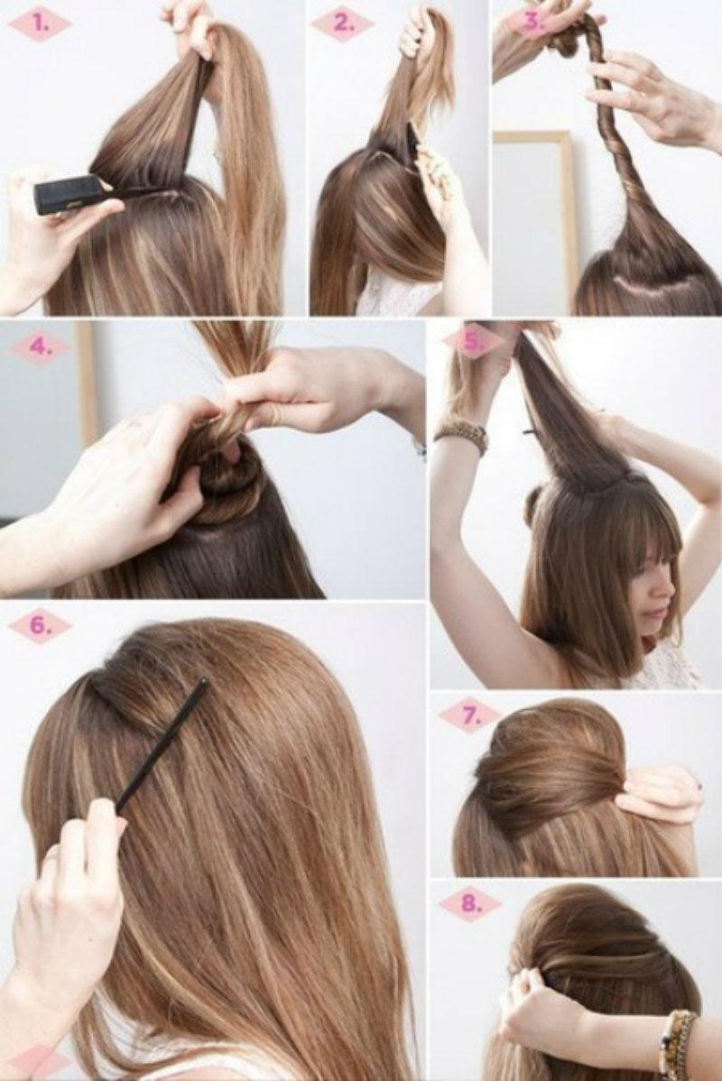 Причёски простые картинки