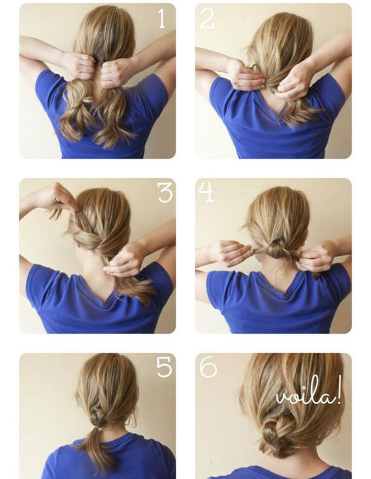 Прически до плеч: фото 17
