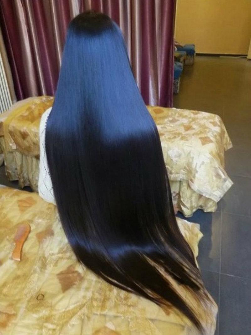 Японское выпрямление волос: фото 3