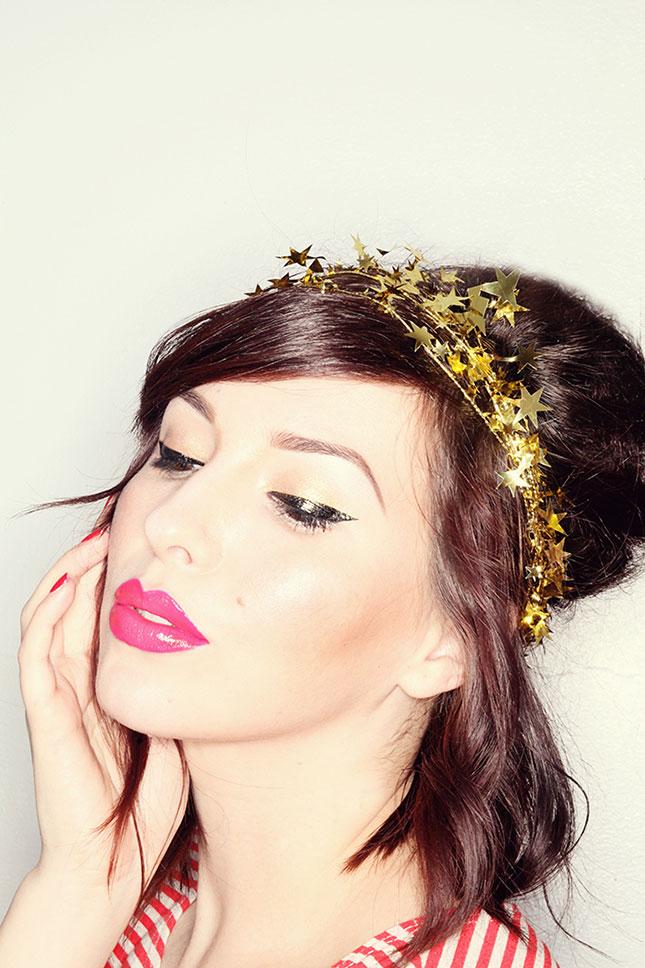 Новогодние аксессуары для волос: фото 4