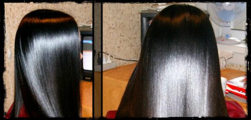 Японское выпрямление волос: фото 4