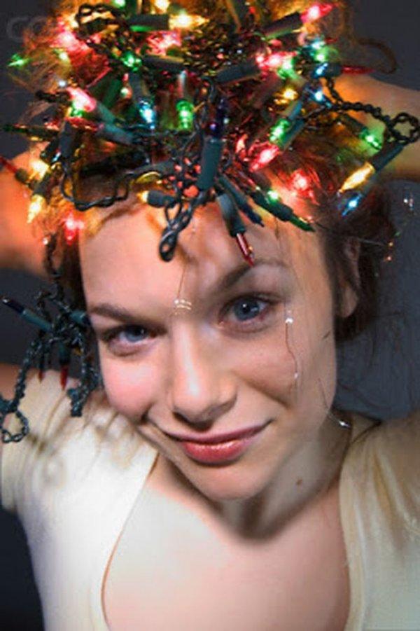 Необычные новогодние прически: фото 9