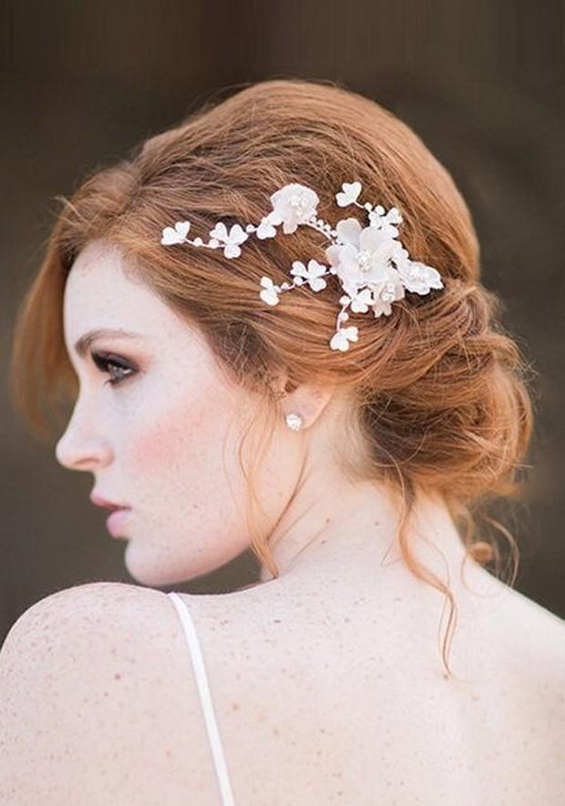 Свадебная прическа 2016: фото 28