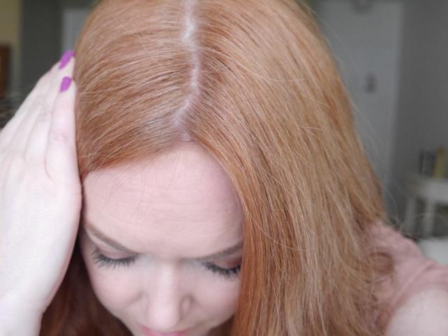 Клубничный блонд дома