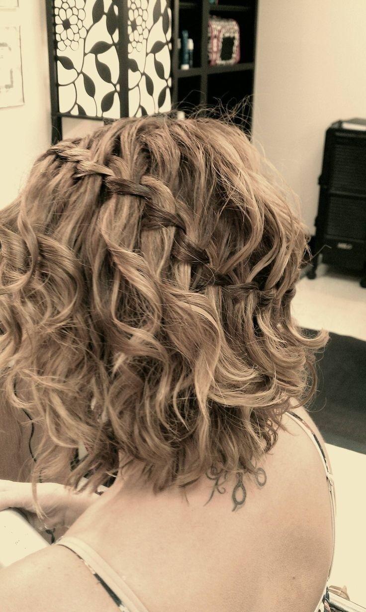 Прически на полураспущенные волосы: фото 42