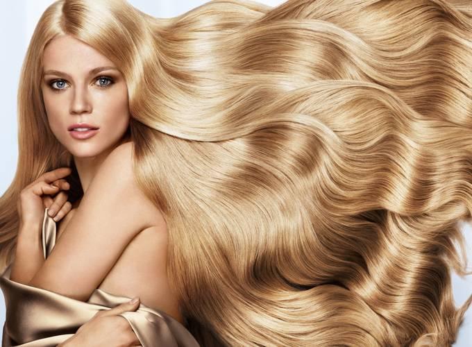 Волосы из рекламы