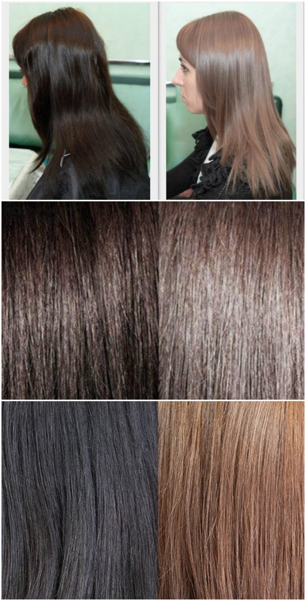 Как отрастить свой цвет волос: смывка