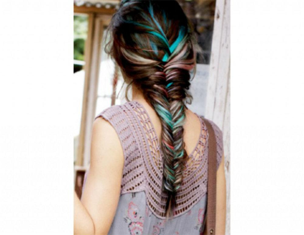 Прически с мелками для волос: фото 14