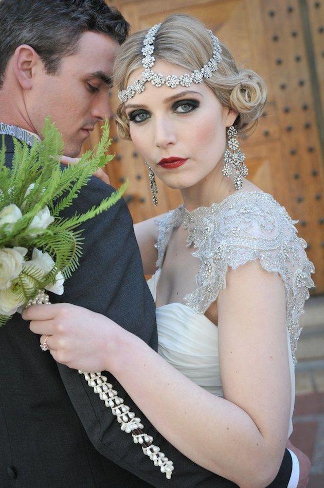 Лучшие свадебные прически на короткие волосы: фото 11