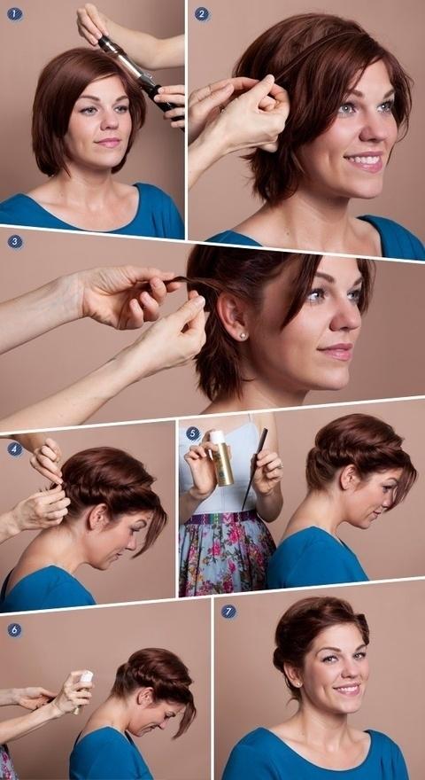 Короткие волосы фото 9