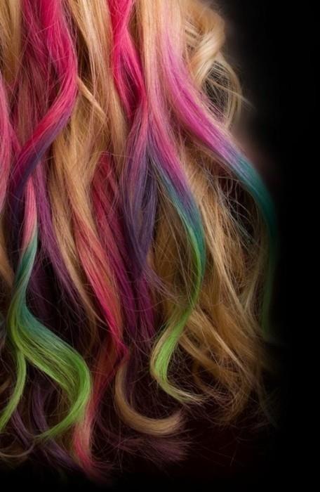прически с помощью мелков для волос: фото 66