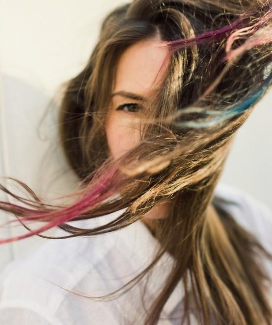 прически с помощью мелков для волос: фото 69