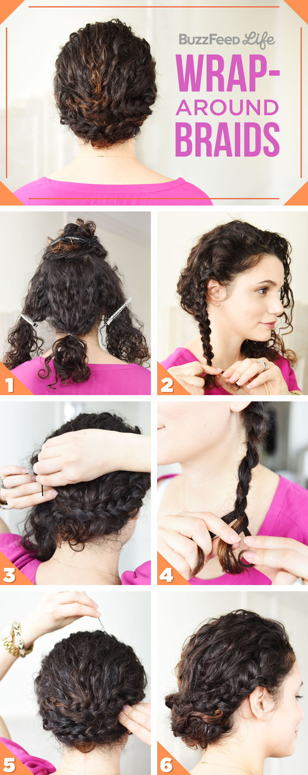 корзинка из волос