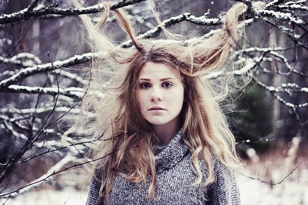 Сезонное выпадение волос зимой