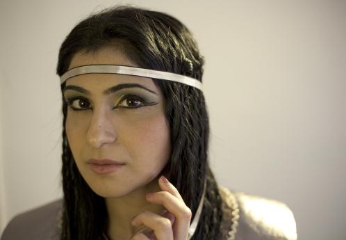 Египетская прическа: фото 2