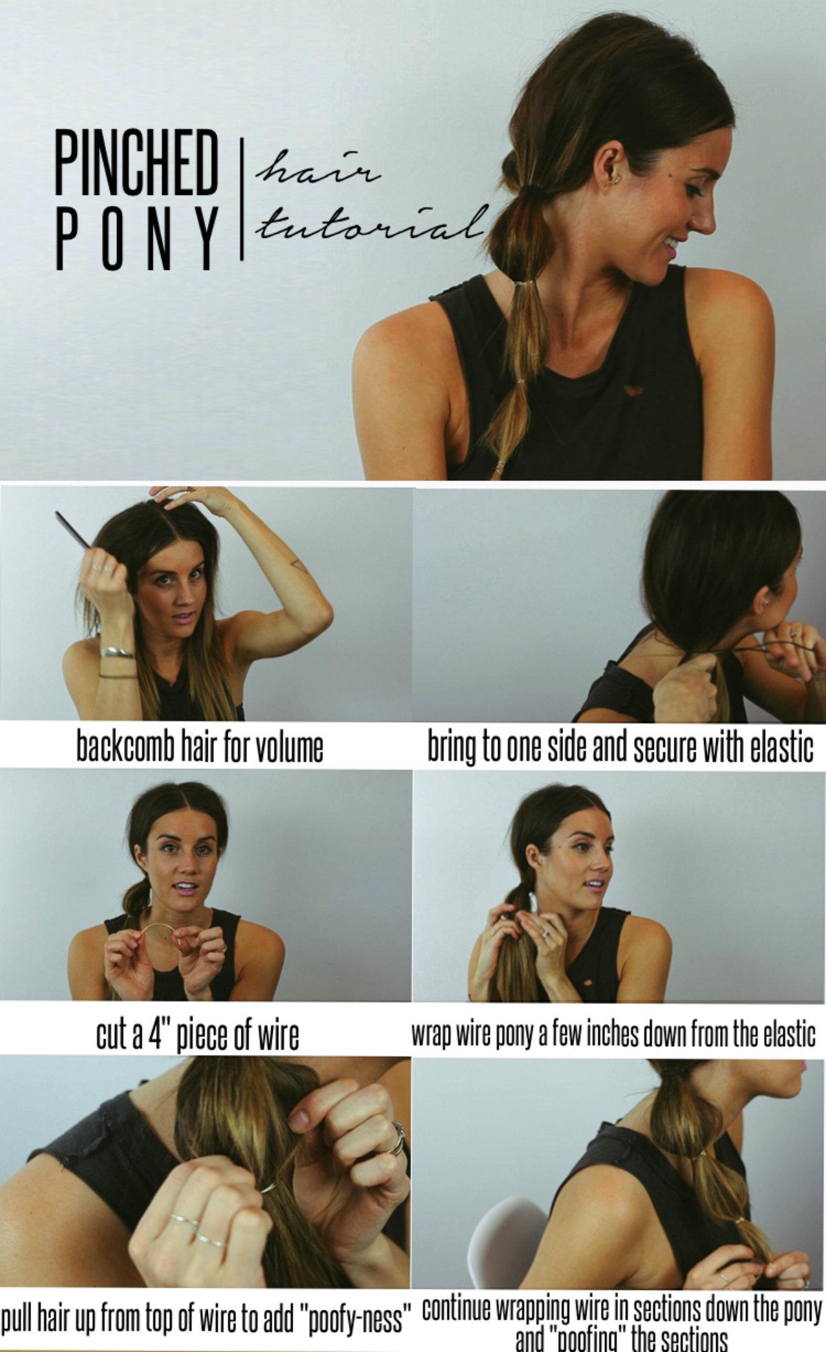 косы резинками