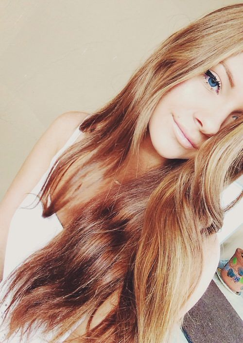 модный цвет волос фото 2