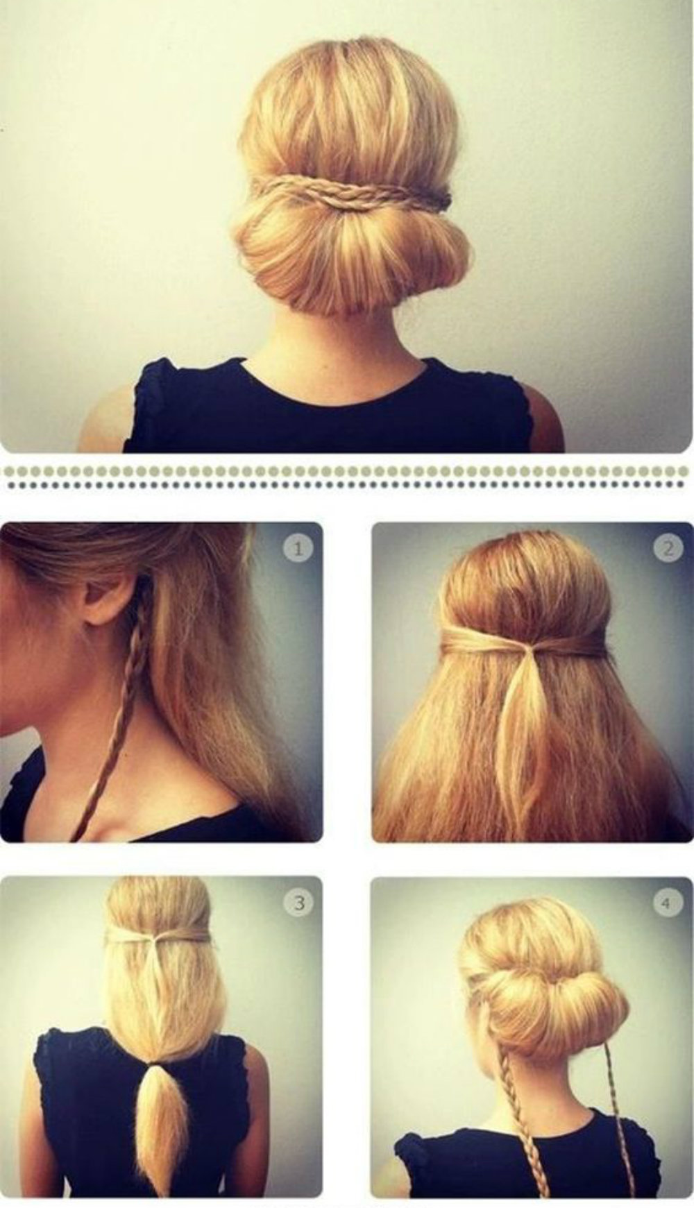 валик из волос