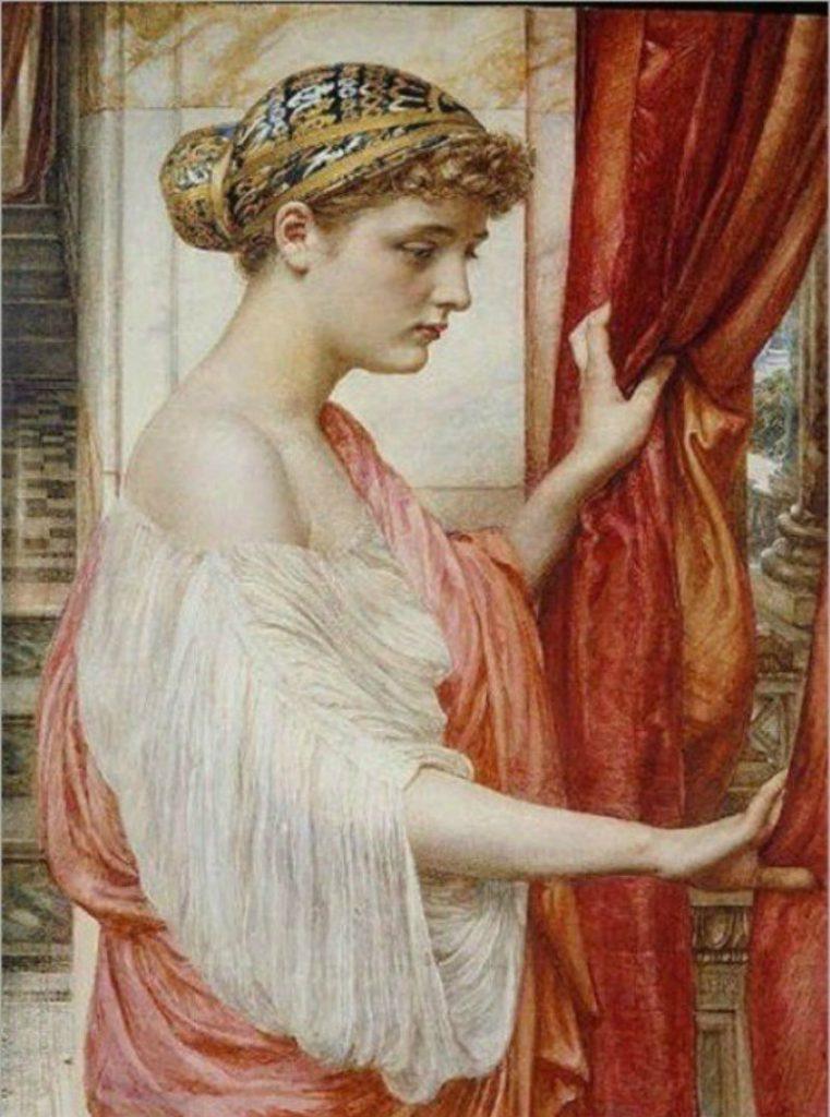 Волосы в Древней Греции