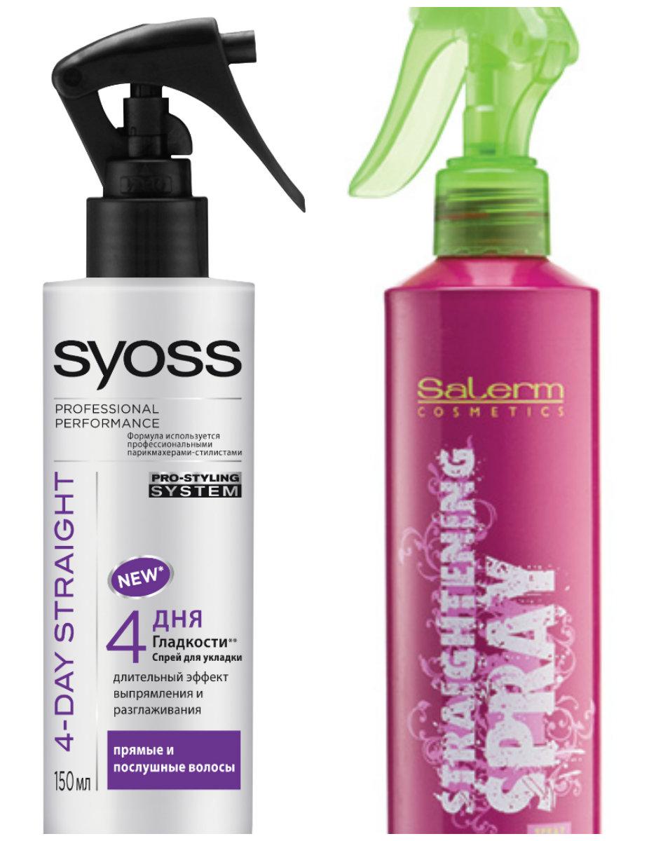 выпрямляющие спреи для волос