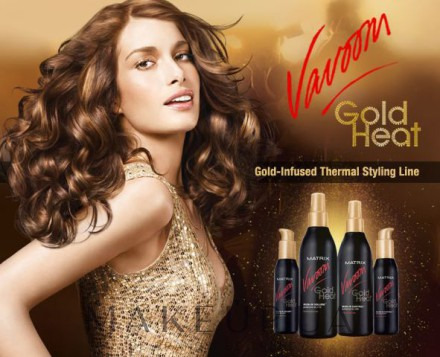 Лосьон «Vavoom Gold Heat Blow-in Volume» от Matrix