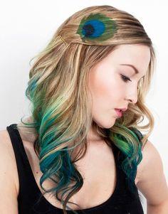 рисунки на волосах: фото 4