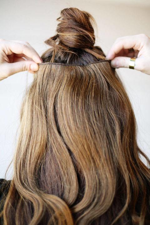 Накладные волосы шаг десятый