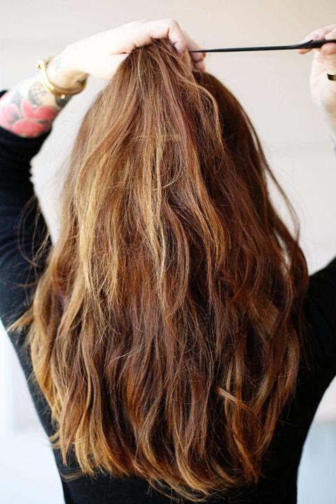 Накладные волосы шаг двенадцатый