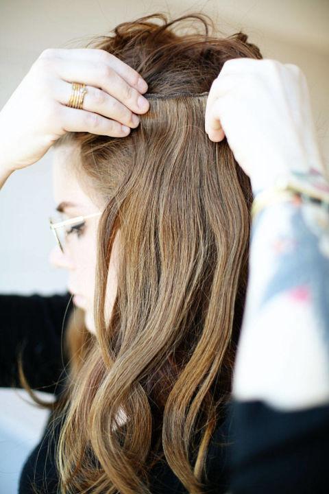 Накладные волосы шаг одиннадцатый