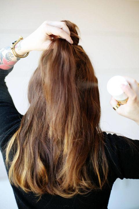 Накладные волосы шаг восьмой