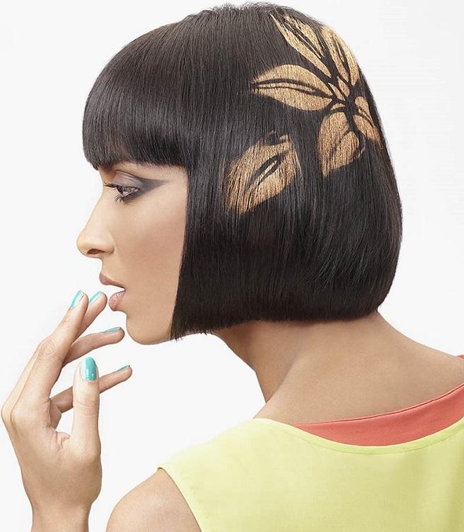 рисунки на волосах: фото 37
