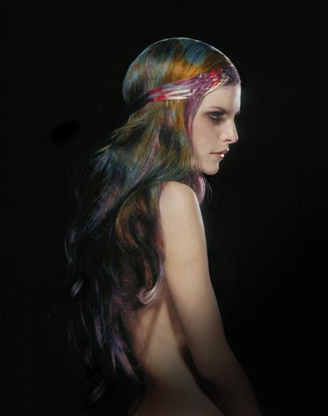 рисунки на волосах: фото 13