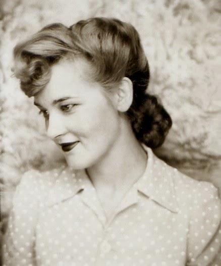 Прически 40-х: фото 25