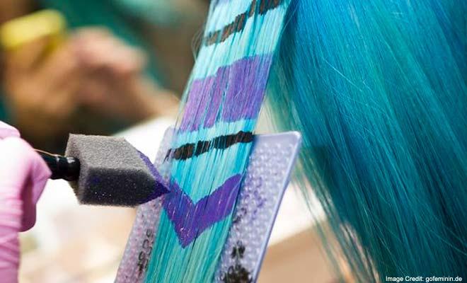 рисунки на волосах: фото 25