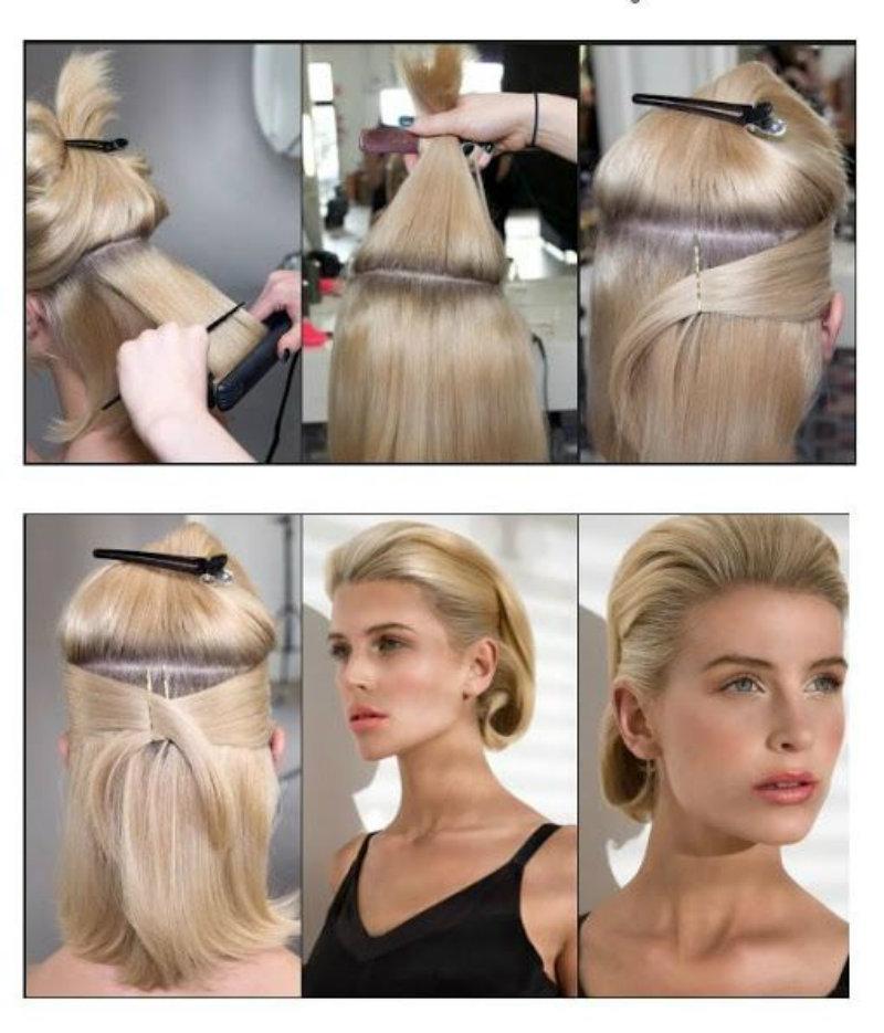 из длинных волос короткие фото 10