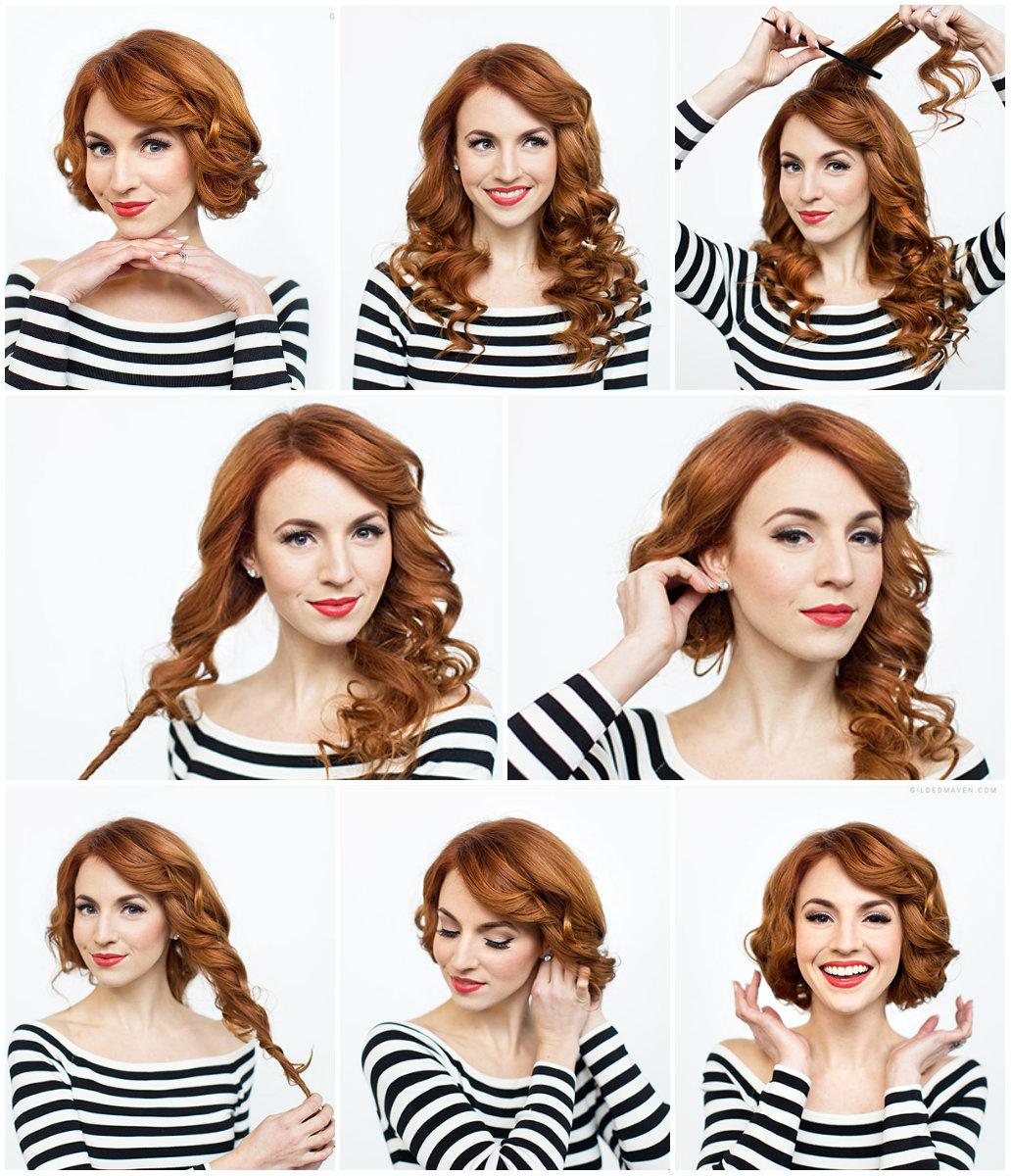 Как сделать короткую причёску из длинных волос