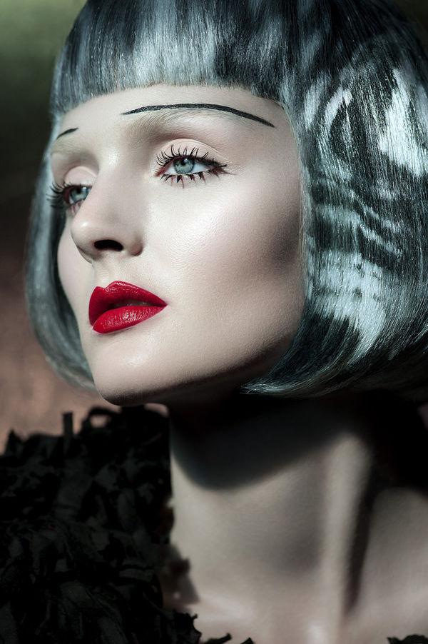 рисунки на волосах: фото 34