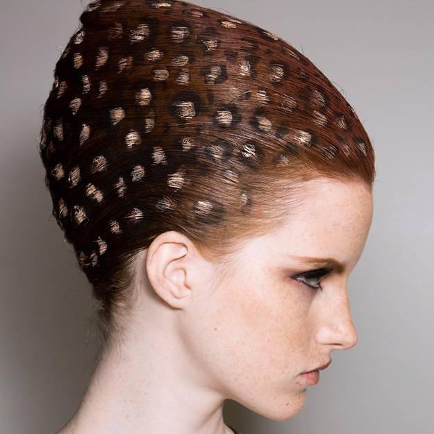 рисунки на волосах фото 1