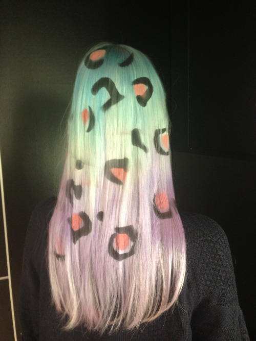 рисунки на волосах: фото 38