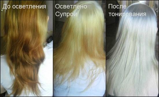 Супра до и после