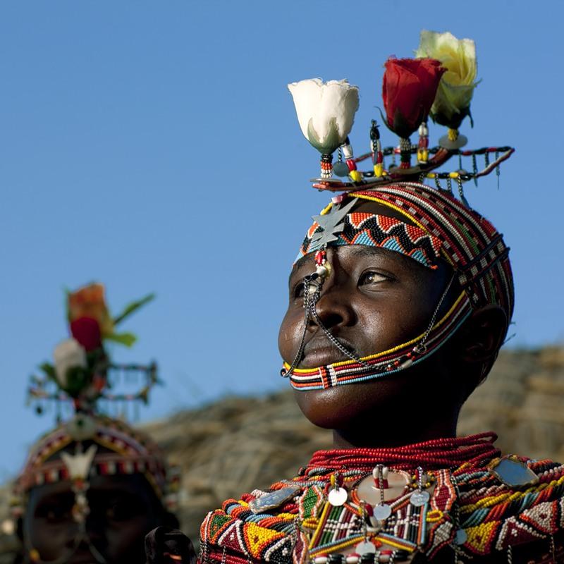 Традиционные прически Африки фото 3