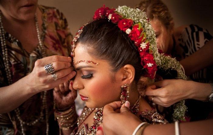 Традиционные прически Индии фото 2