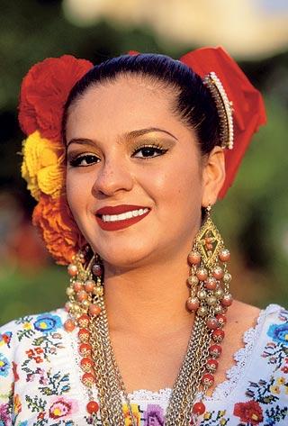 Традиционные прически Мексики фото 3