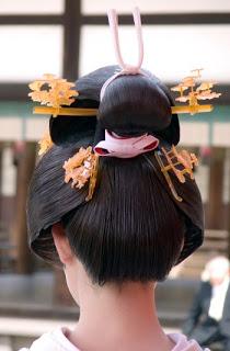 Традиционные прически Японии