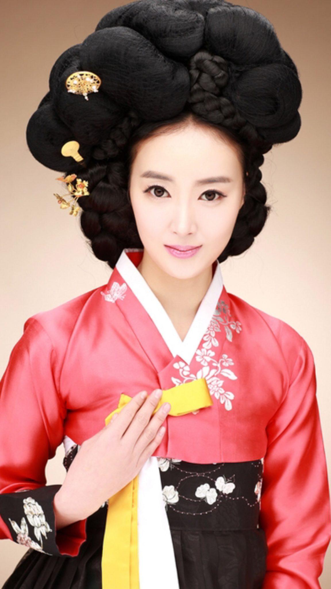 традиционные прически кореи